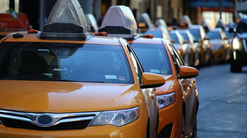 Táxi em São Francisco