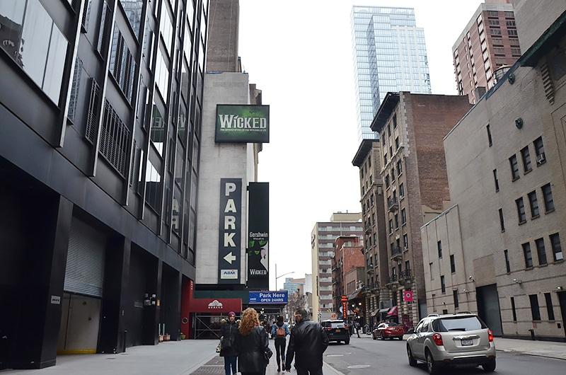 Como é a Broadway em Nova York