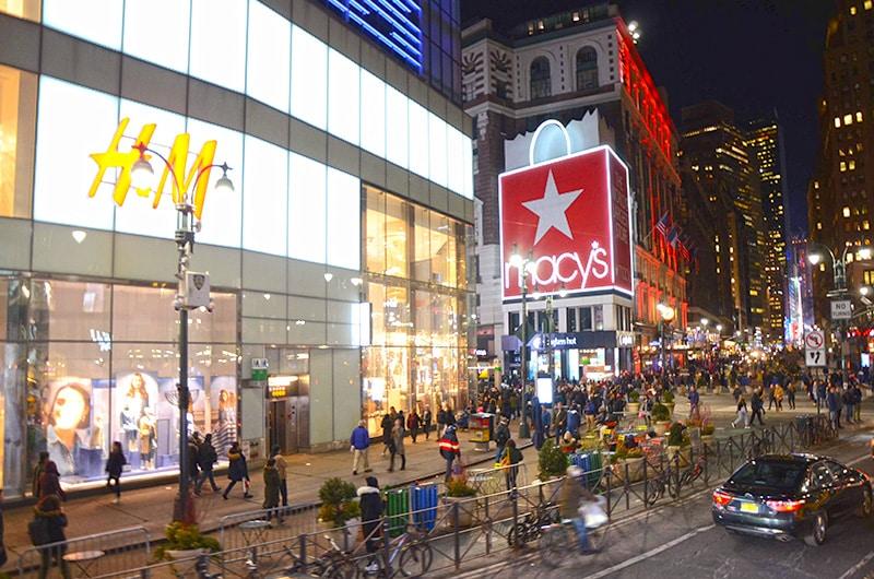 Como chegar na Times Square
