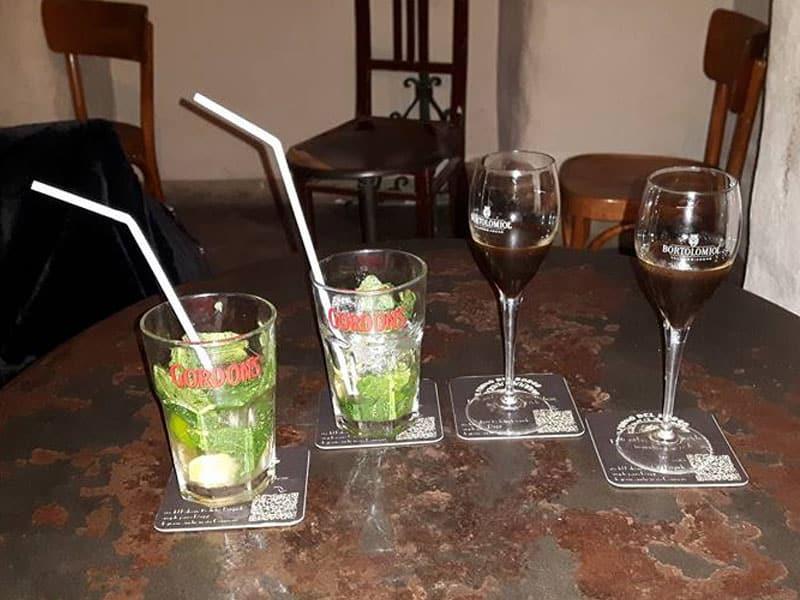 Bar antigo em Genova