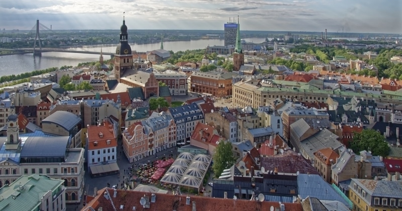 Letônia clima