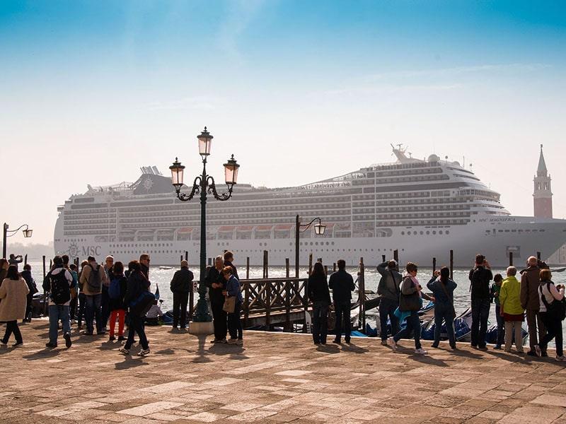 Cruzeiro em Veneza, na Itália