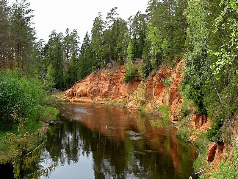 Roteiro pela Letônia, Europa Oriental