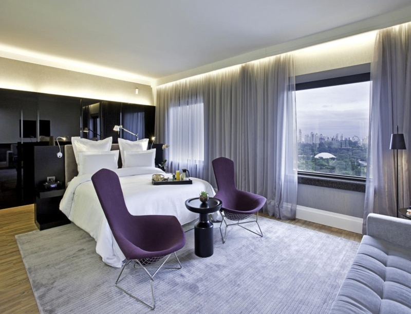 Hotéis famosos em SP