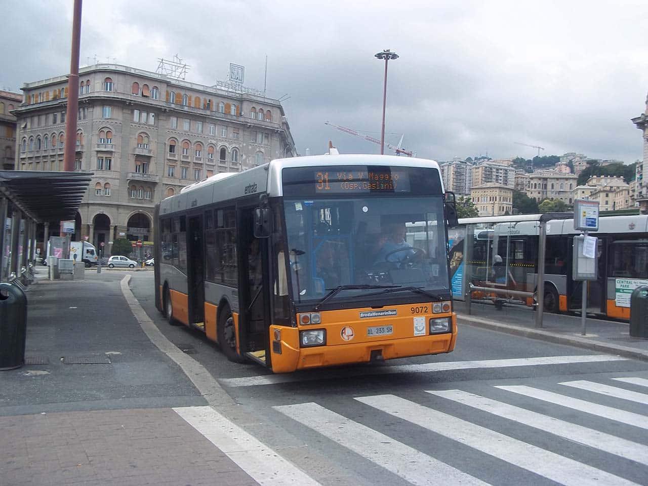 Dicas de transporte público