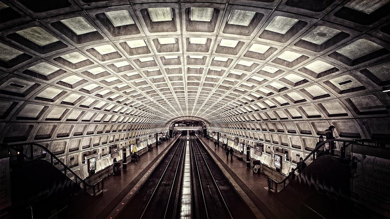 Como usar o metrô em Washington