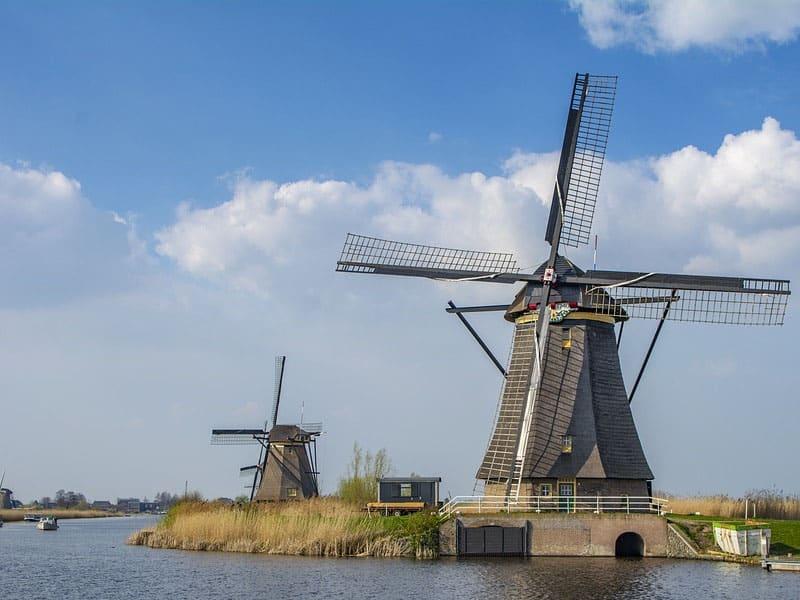 cartões-postais da Holanda