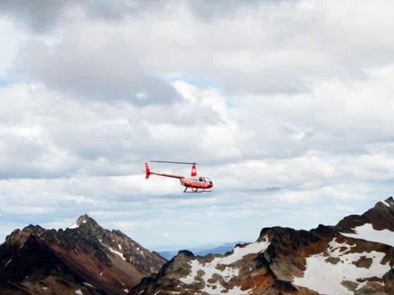 Passeio de helicóptero em Ushuaia