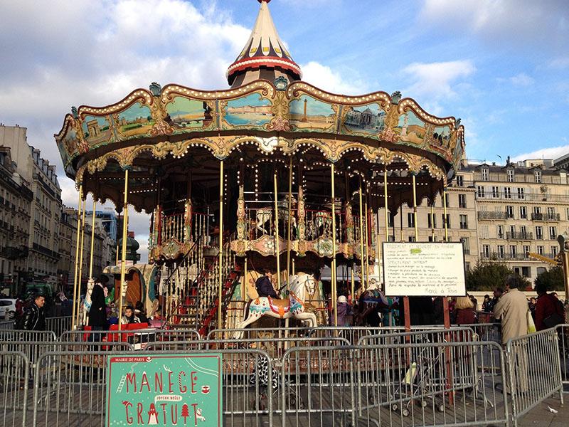 Passeio gratuito em Paris