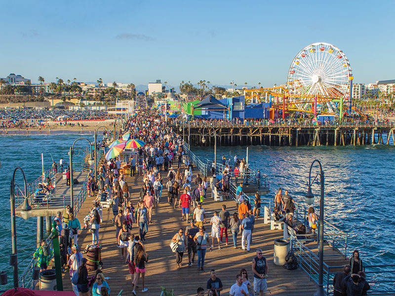 O que fazer na California