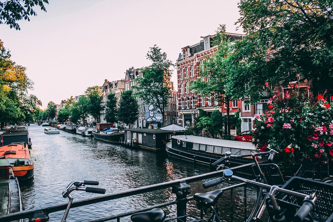 Escala em Amsterdam