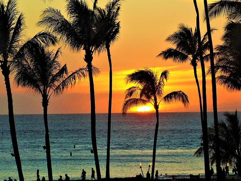 Principais praias dos EUA