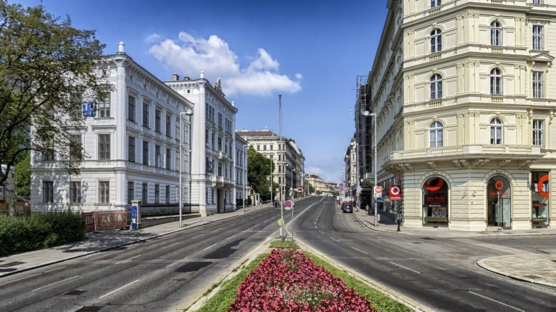 Cidades da Europa Viena indicadas
