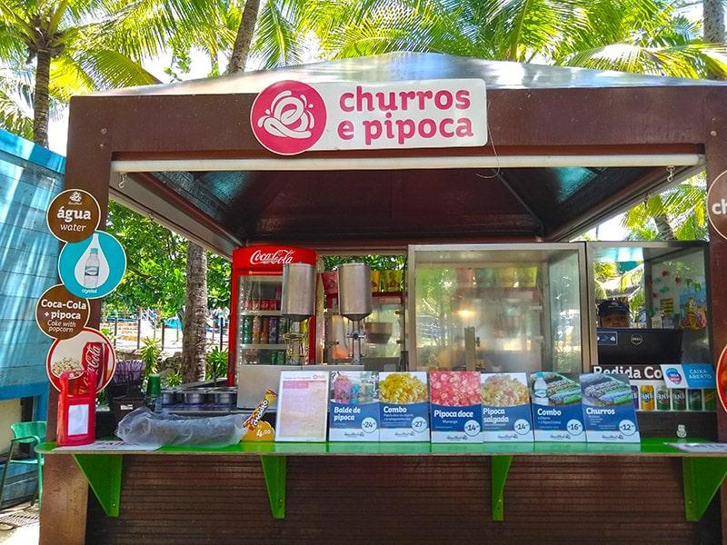Dicas de comida no Beach Park
