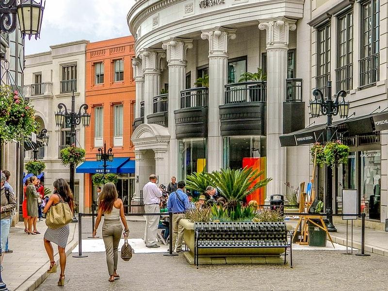 Melhores pontos turísticos da Califórnia - Beverly Hills