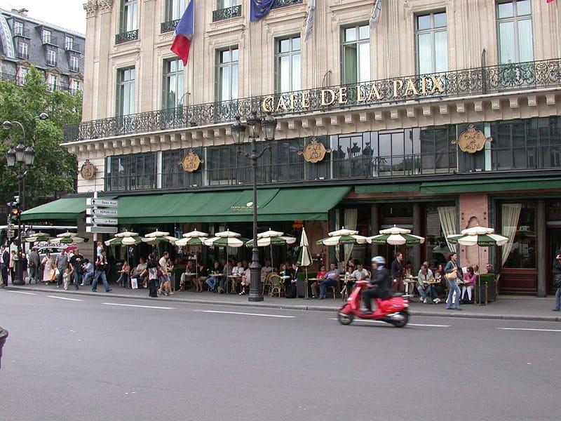 Cafeterias em Paris