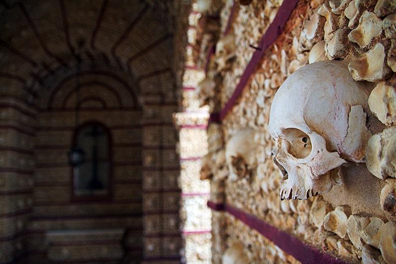 Capela dos Ossos Évora Faro