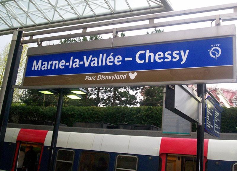 Trem para Eurodisney