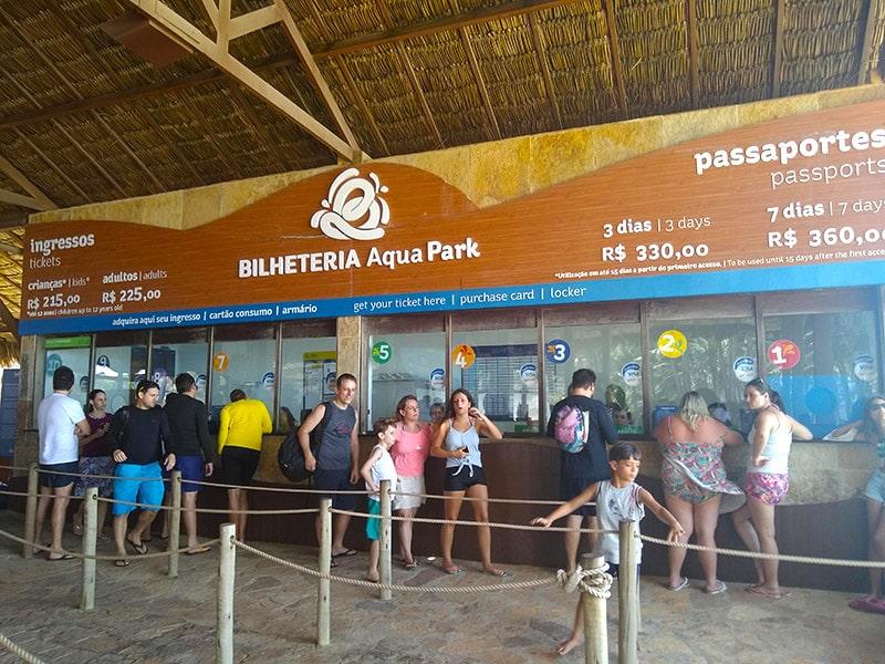 Onde comprar ingresso para o Beach Park barato