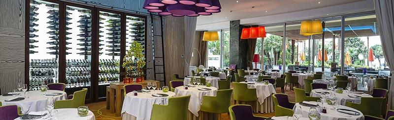 Restaurante estrela michelin em Cannes