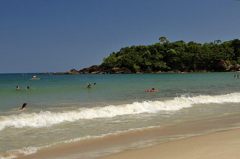 Praias para banhistas em São Paulo