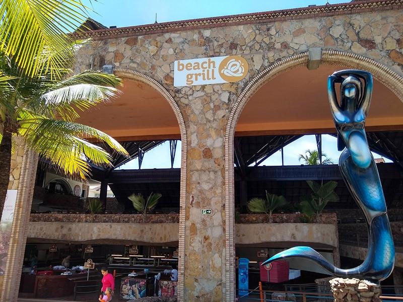 Self-service no Beach Park
