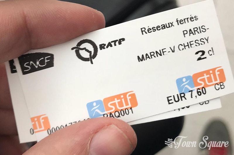 De Paris para a Disney