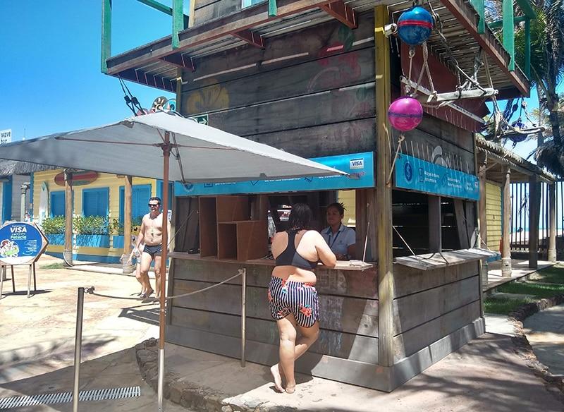 Como é o Beach Park
