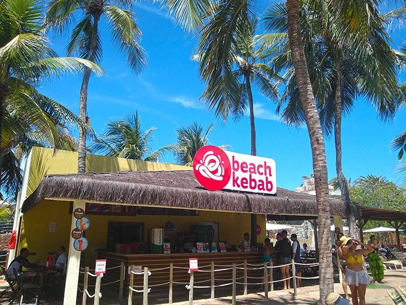 Consumo de comida no Beach Park