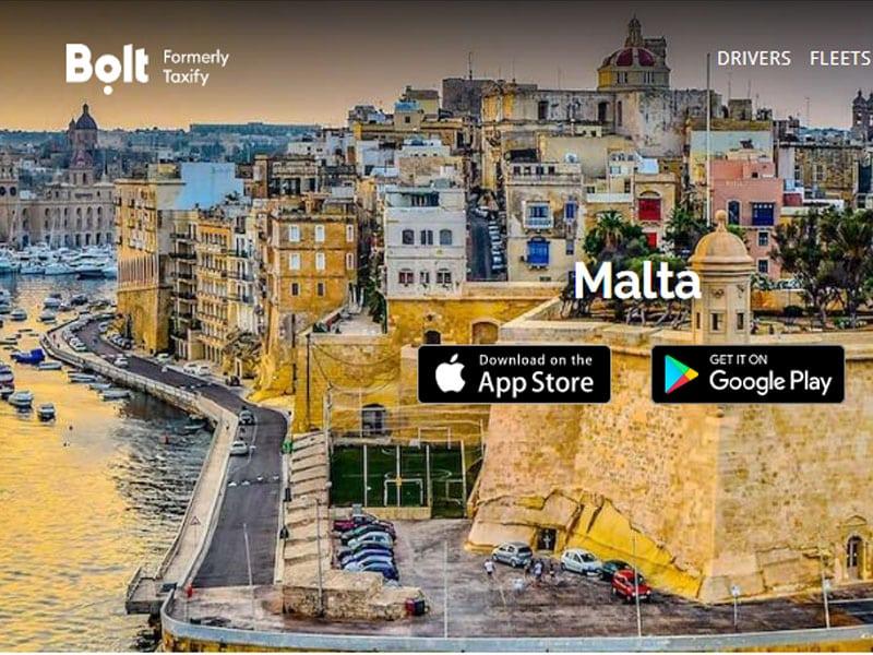 como sair do aeroporto de malta