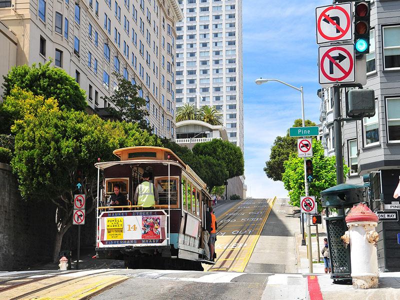 Meios de transporte para usar em São Francisco