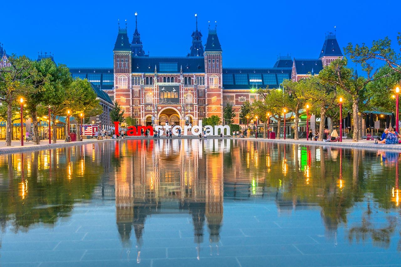 O que fazer e quais lugares na Europa ir em Amsterdam