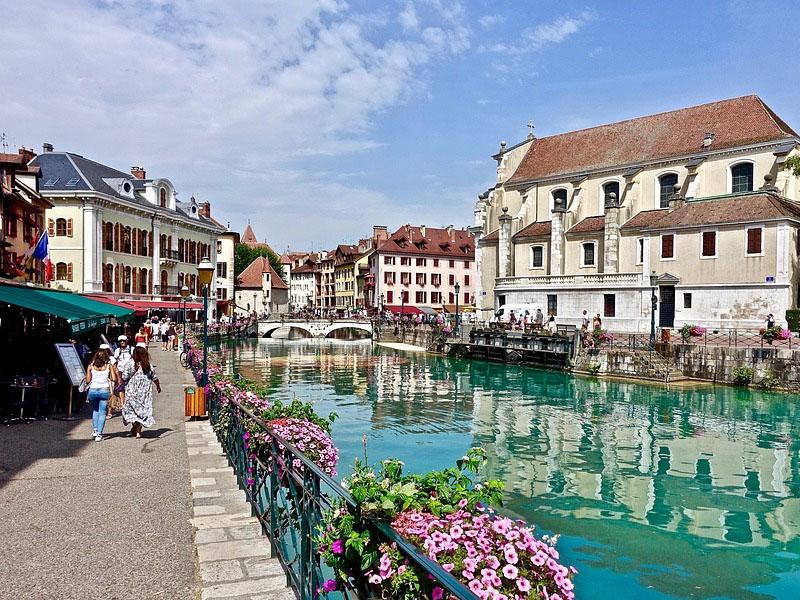 Cidades dos alpes franceses
