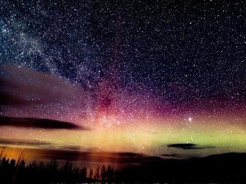 Onde a Aurora Boreal é mais frequente?