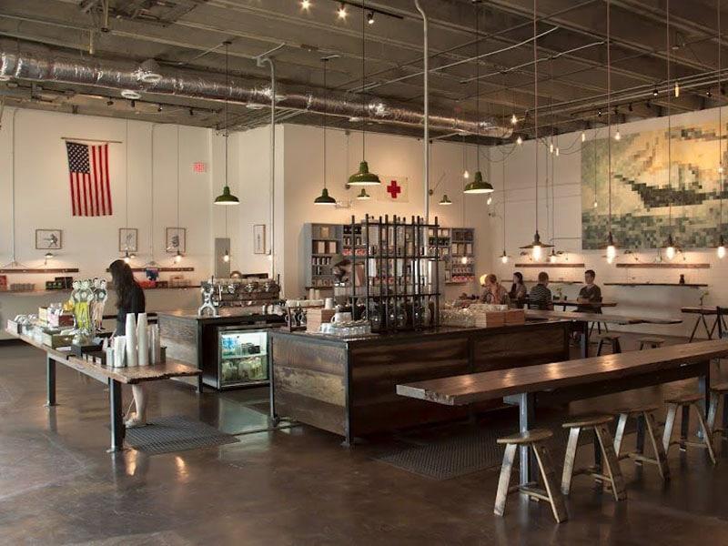 Cafeterias nos Estados Unidos