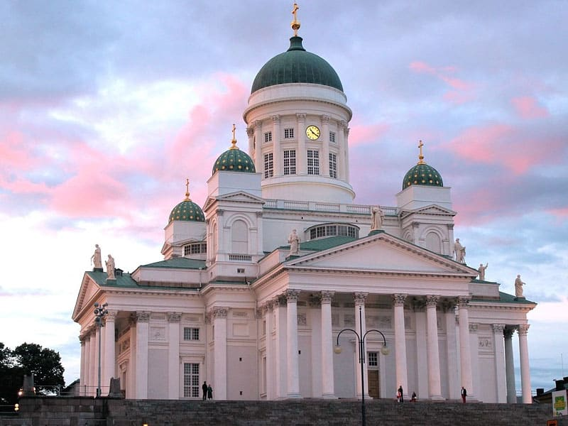 Pontos turísticos na Finlândia