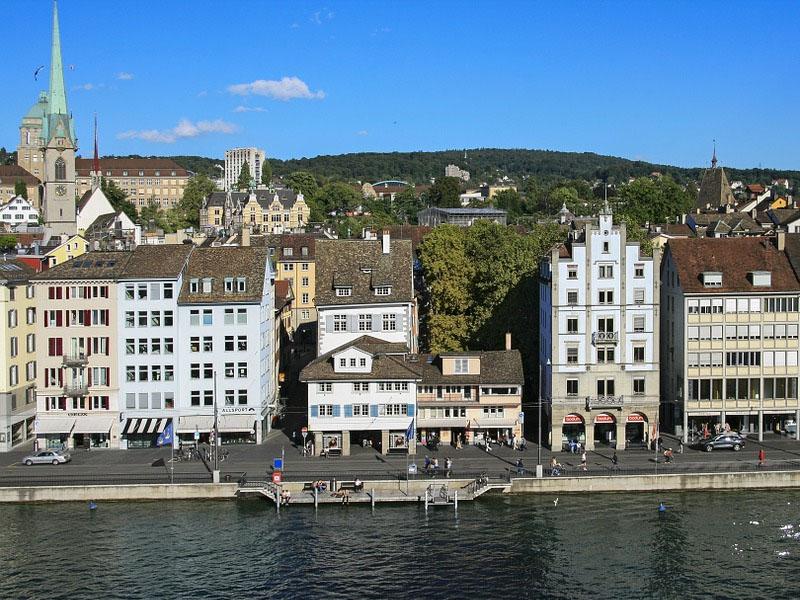 Cidades mais importantes da Suíça