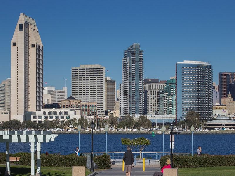 Cidades mais visitadas da Califórnia