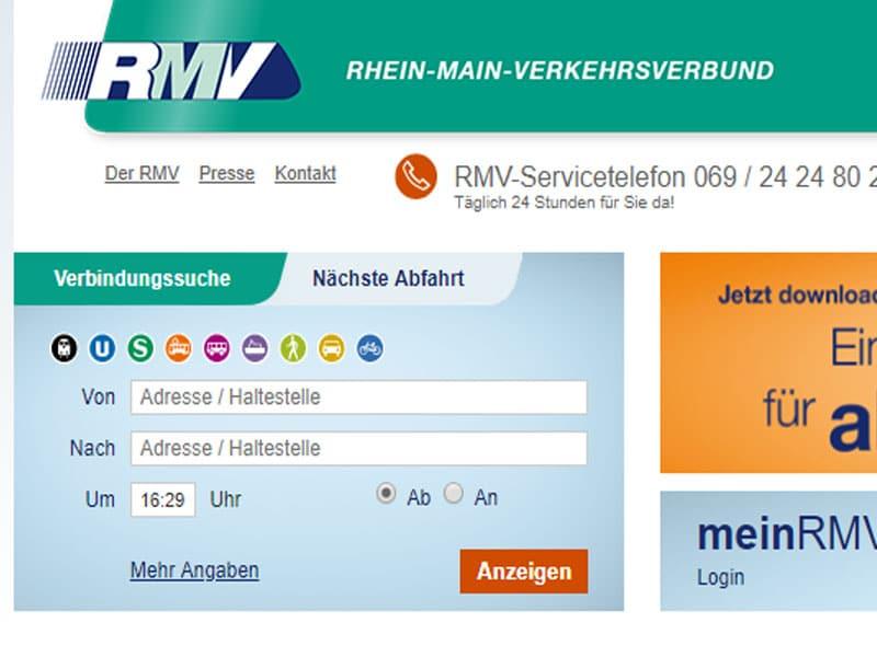 Meio de transporte em Frankfurt