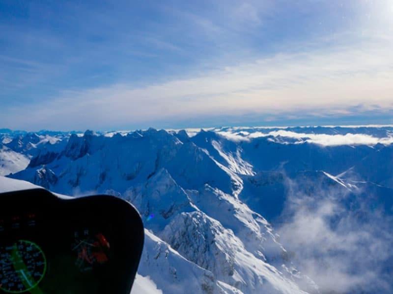 Cordilheira dos Andes em Ushuaia