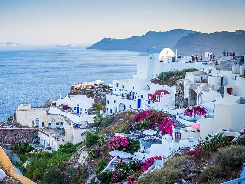 Roteiro em Oia, na Grécia
