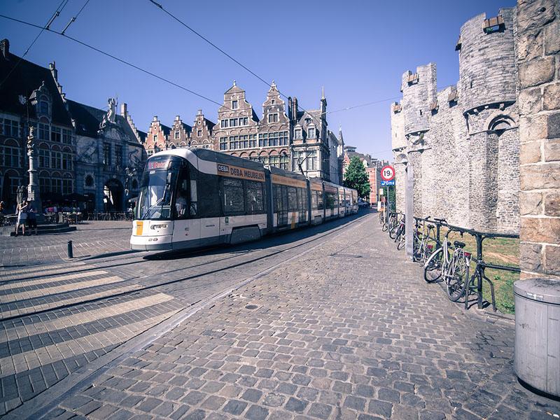 Meios de transporte na Bélgica