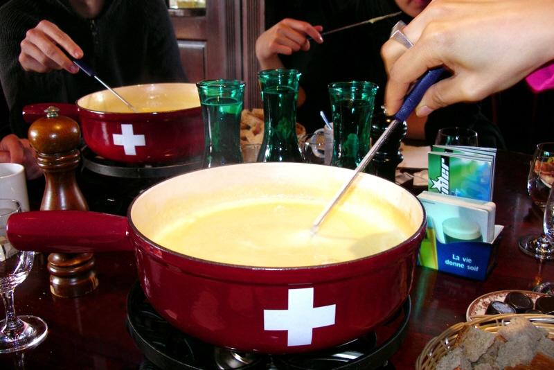 Comidas típicas da Suíça