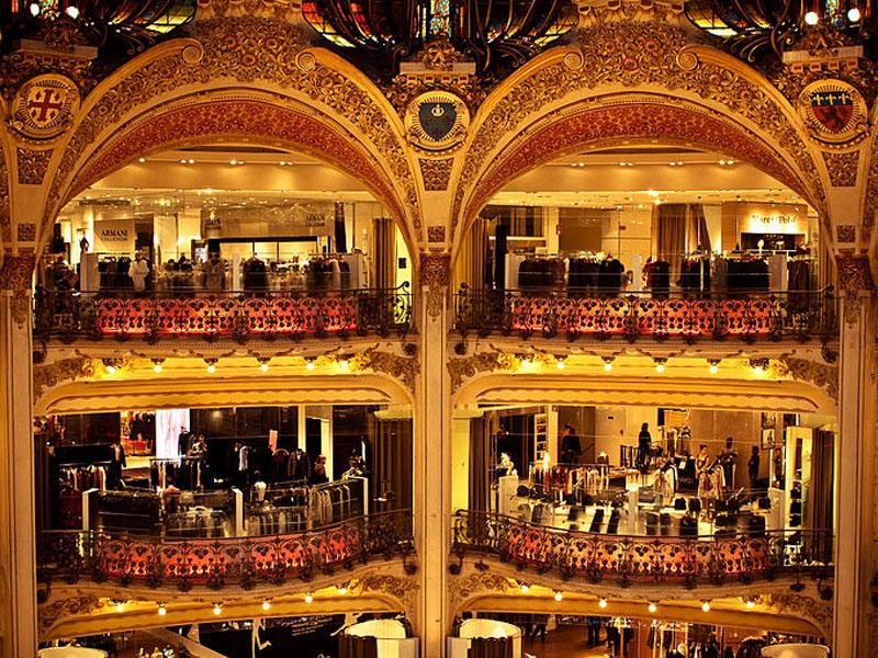 Lugares para fazer compras em Paris