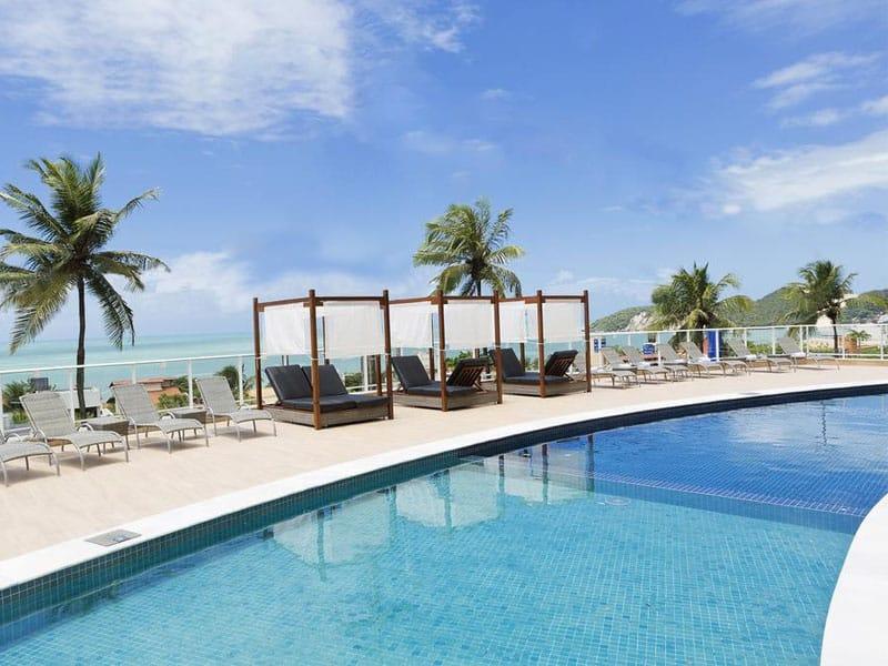 hoteis em natal com piscina grande
