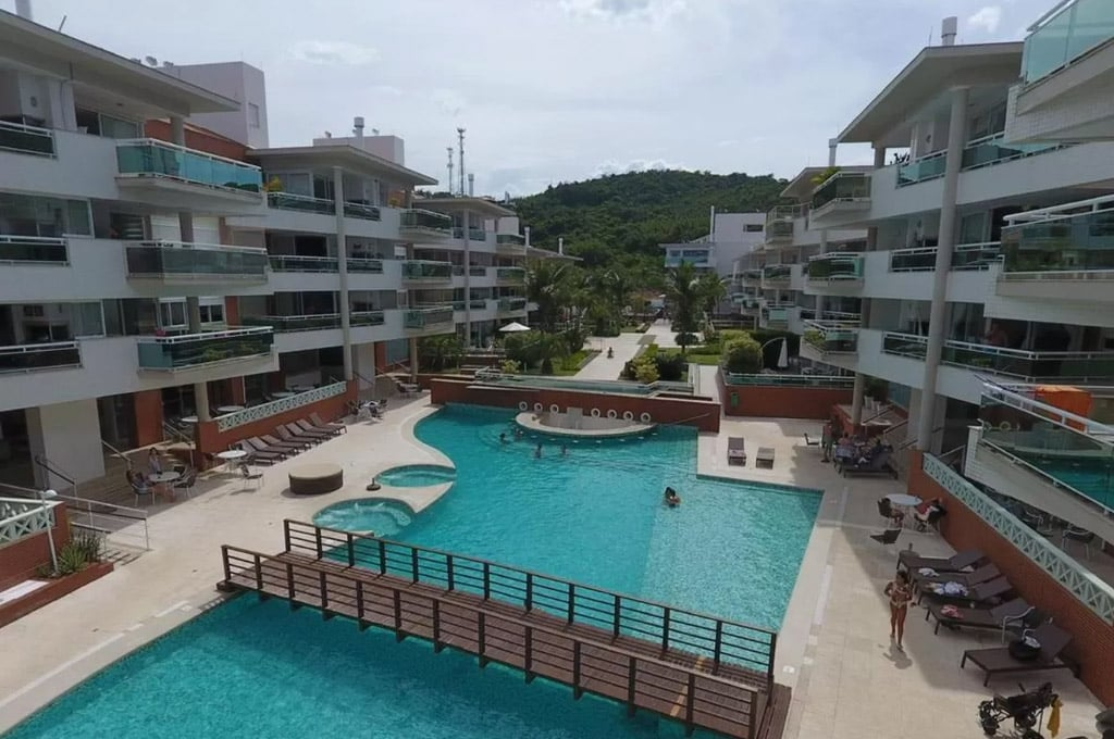 hotéis na Praia Brava