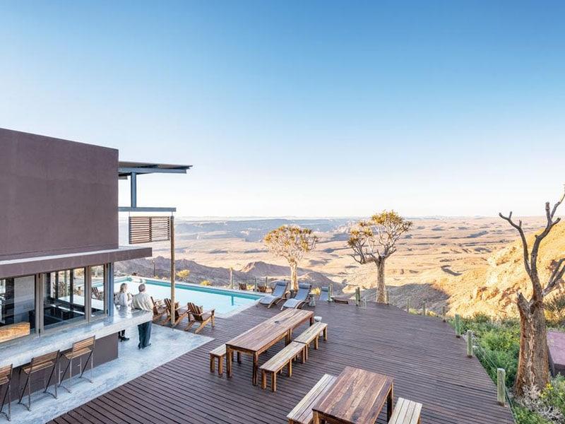 Hotéis na Namíbia