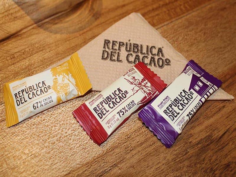 Onde comer chocolate no Equador