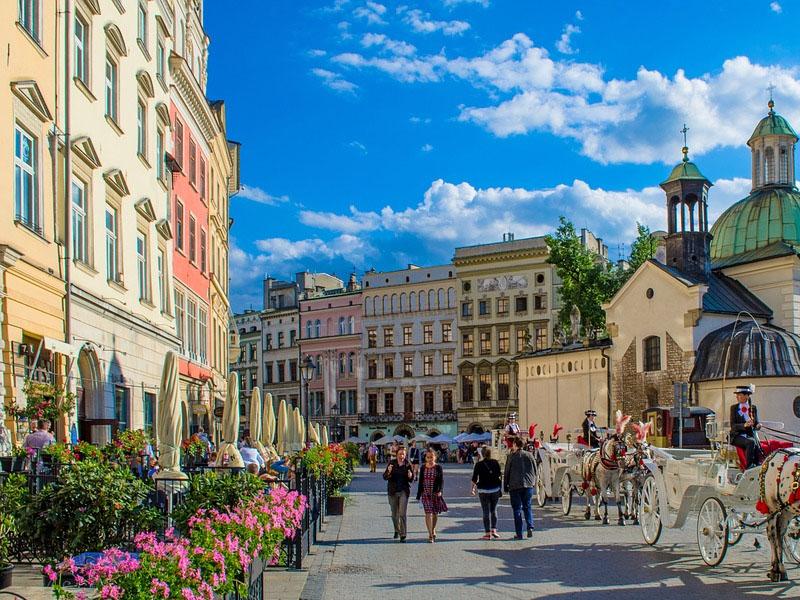 Restaurantes em Cracóvia