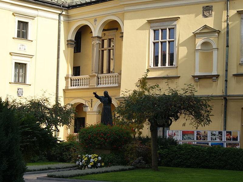 Escultura de João Paulo II na Polônia